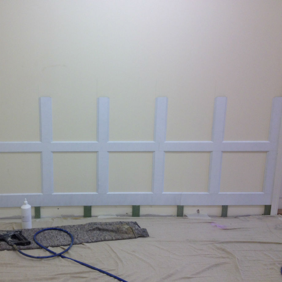 Dartry 4 Tier Wall Panelling Kit 2.2m Long x 2.4m High Primed